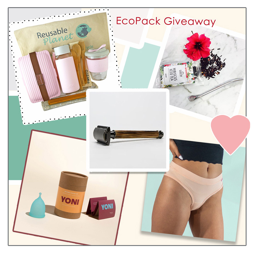 Win the Ultimate Eco Prize Pack full of girlie eco goodies worth over $400!