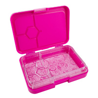 Sachi 4 Compartment Bento Box - Pink Unicorn