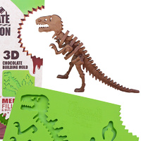 Chocolate T-Rex 3D Construction