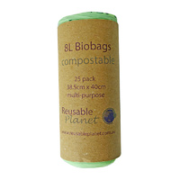 Compostable Bag 8L 25-pack