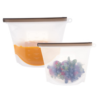 Silicone Food Storage Bag Duo