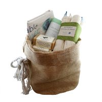 Reusable Hessian Gift Sack - Small