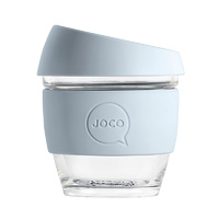 Joco Reusable Glass Cup 236ml - Vintage Blue