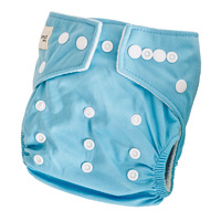 Modern Cloth Nappy - Baby Blue