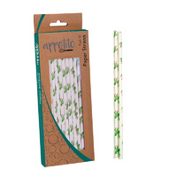 Fun Cactus Party Straws