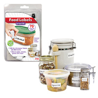Reusable Food Labels