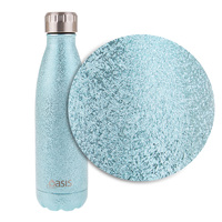 Oasis Shimmer Drink Bottle 500ml - Arctic Blue