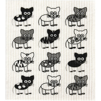 Compostable Sponge Cloth - Cats