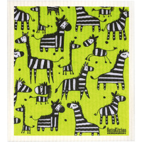 Compostable Sponge Cloth - Zebra