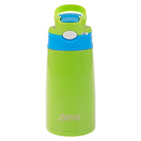 Kids Stainless Steel Drink Bottle - Green