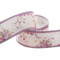 Cotton Ribbon 10m - Vintage Flowers