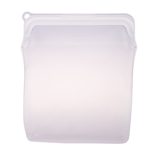 Appetito Silicone Extra Large Food Storage Bag - White