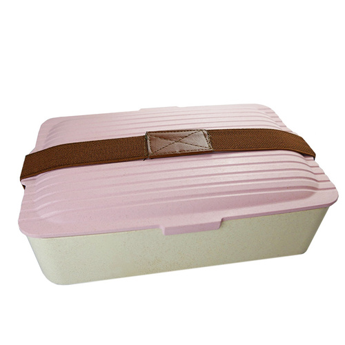 Wheat Fibre Eco Box - Pink
